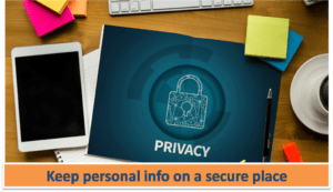 Protect Personal Data Internet